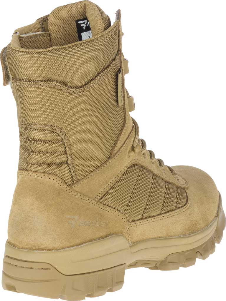 """Men's Bates 8"""" Tactical Sport DRYGuard Side Zip Boot E02208, Coyote Leather/Nylon, large, image 4"""