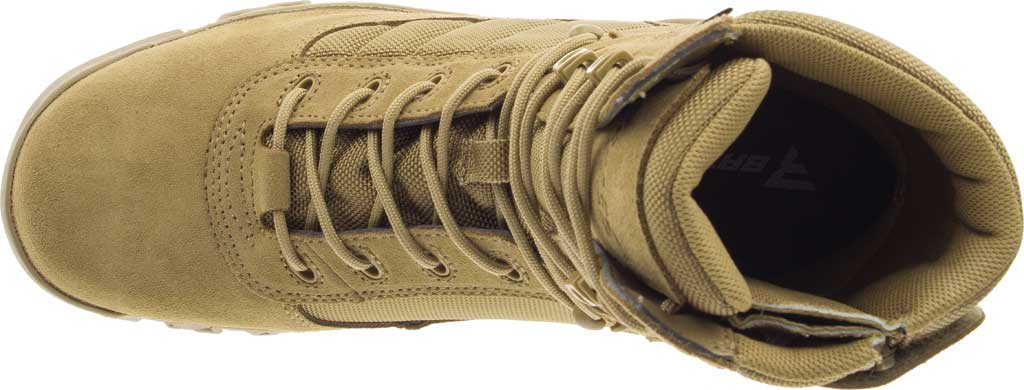 """Men's Bates 8"""" Tactical Sport DRYGuard Side Zip Boot E02208, Coyote Leather/Nylon, large, image 5"""