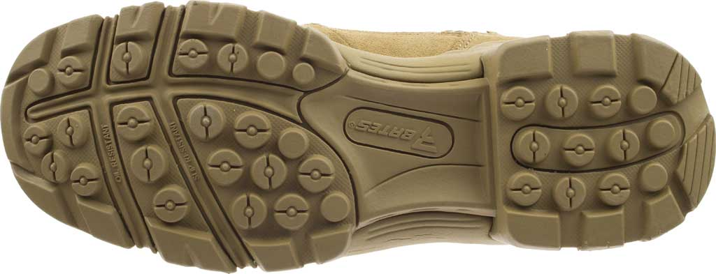 """Men's Bates 8"""" Tactical Sport DRYGuard Side Zip Boot E02208, Coyote Leather/Nylon, large, image 6"""