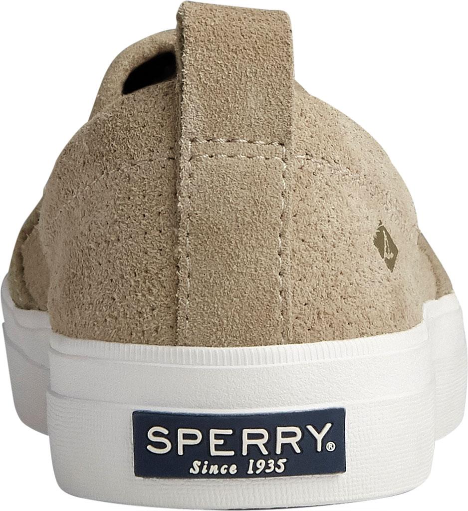 Women's Sperry Top-Sider Crest Twin Gore Plushwave Perf Slip-On Sneaker, Cornstalk Leather, large, image 4