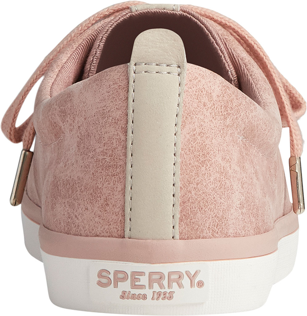 Women's Sperry Top-Sider Sailor Lace To Toe Mystic Sneaker, Rose Dust Nubuck, large, image 4
