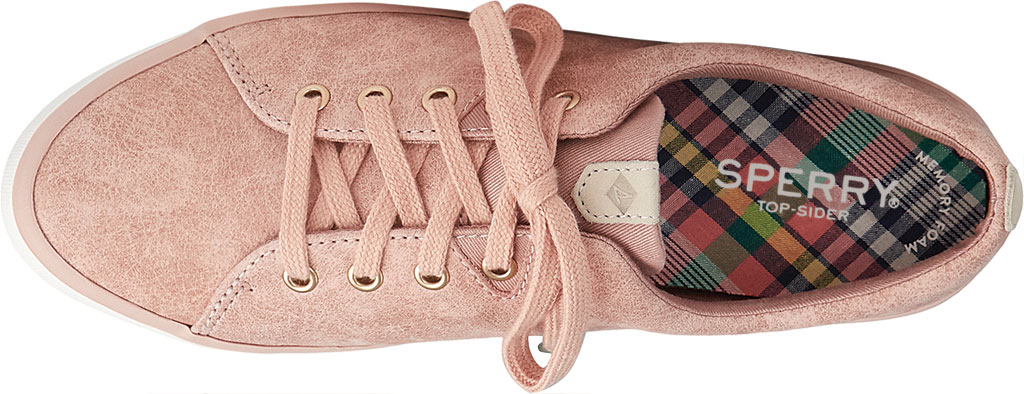 Women's Sperry Top-Sider Sailor Lace To Toe Mystic Sneaker, Rose Dust Nubuck, large, image 5
