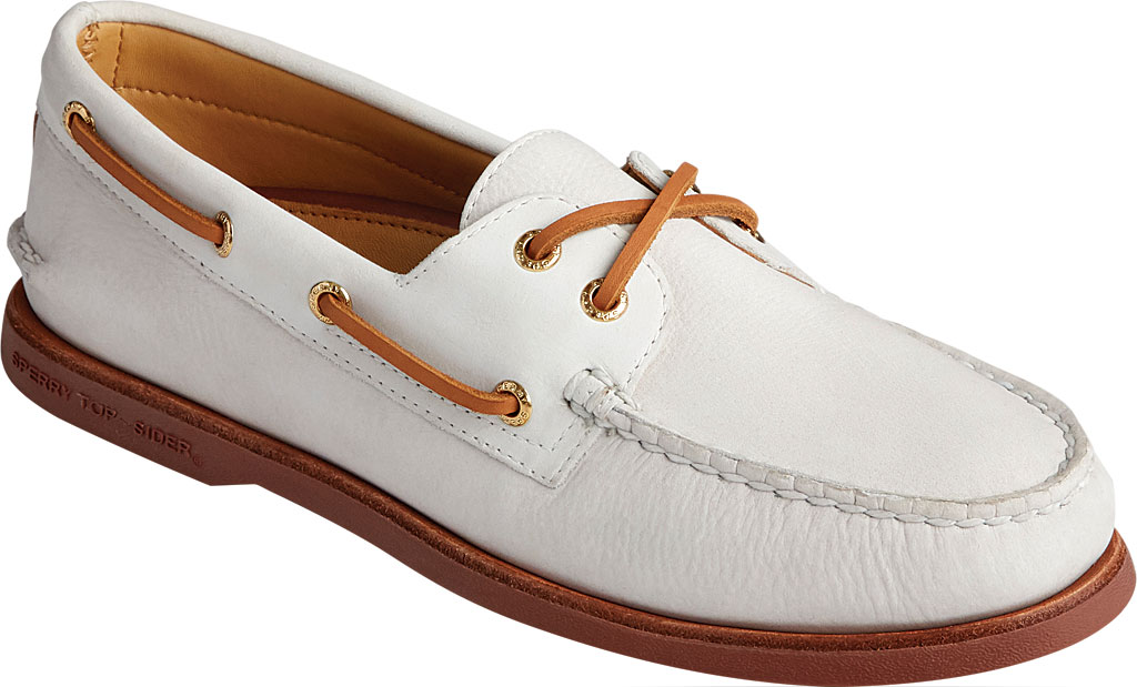 Men's Sperry Top-Sider Gold Cup Authentic Original 2-Eye Freeport Shoe, Lanyard Full Grain Leather, large, image 1