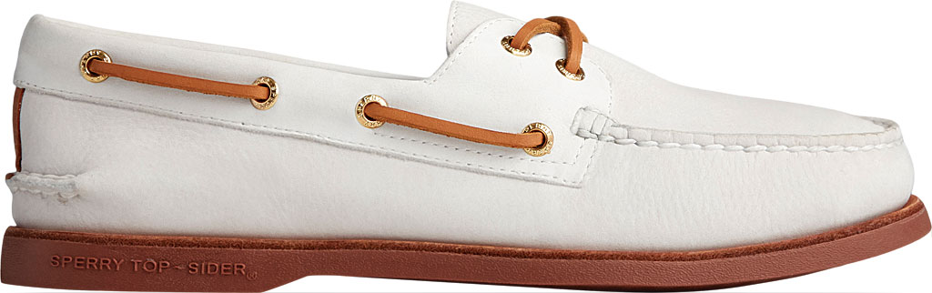 Men's Sperry Top-Sider Gold Cup Authentic Original 2-Eye Freeport Shoe, Lanyard Full Grain Leather, large, image 2