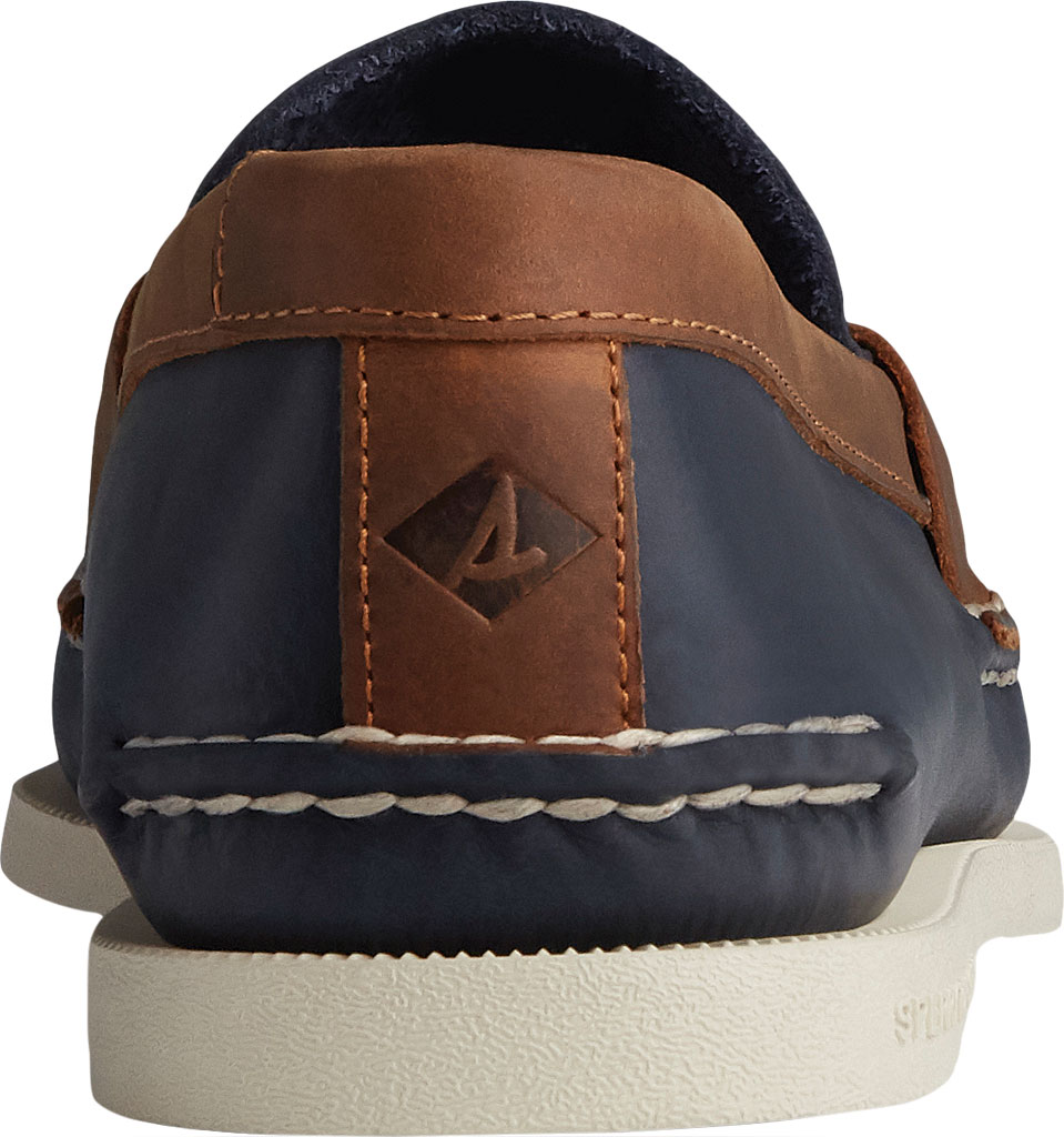 Men's Sperry Top-Sider Authentic Original Penny Wild Horse Loafer, Navy/Sonora Leather, large, image 4