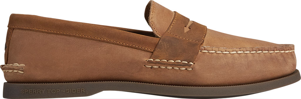 Men's Sperry Top-Sider Authentic Original Penny Wild Horse Loafer, Sahara/Sonora Leather, large, image 2