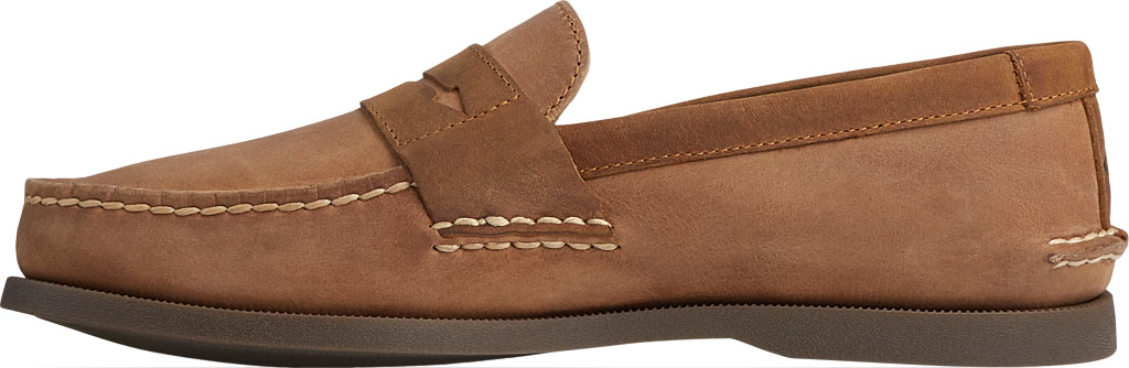 Men's Sperry Top-Sider Authentic Original Penny Wild Horse Loafer, Sahara/Sonora Leather, large, image 3