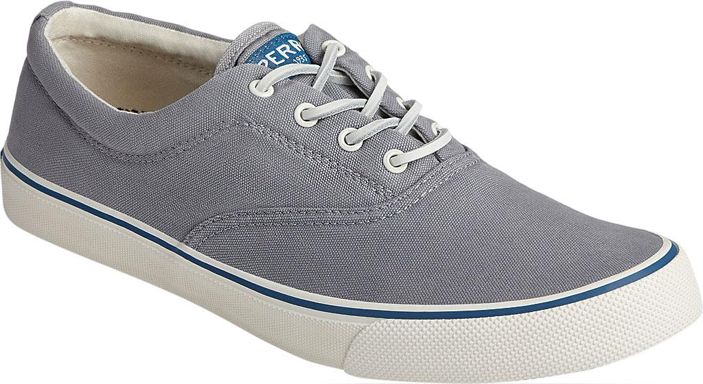 Men's Sperry Top-Sider Striper II CVO Kick Back Sneaker, Grey Canvas, large, image 1