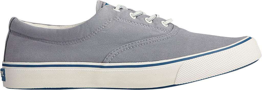 Men's Sperry Top-Sider Striper II CVO Kick Back Sneaker, Grey Canvas, large, image 2