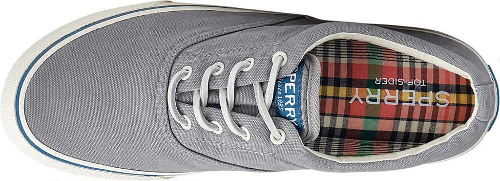 Men's Sperry Top-Sider Striper II CVO Kick Back Sneaker, Grey Canvas, large, image 5