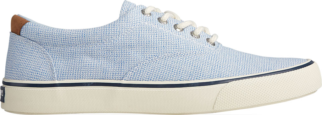 Men's Sperry Top-Sider Striper II CVO Gingham Sneaker, Blue Canvas, large, image 2