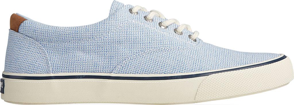 Men's Sperry Top-Sider Striper II CVO Gingham Sneaker, Blue Canvas, large, image 2