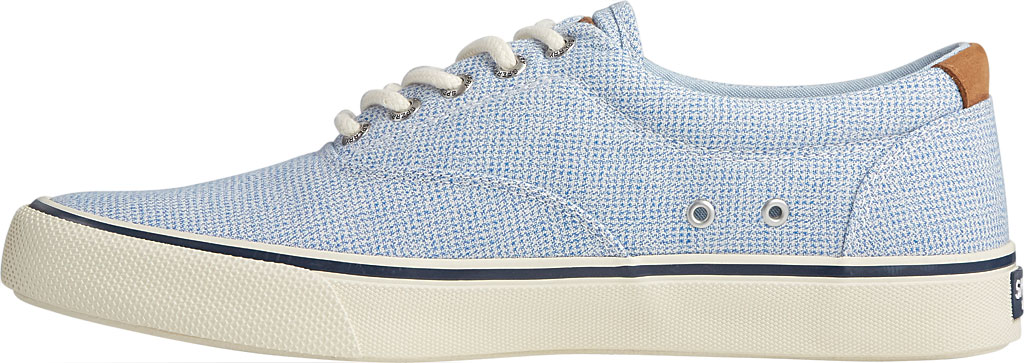 Men's Sperry Top-Sider Striper II CVO Gingham Sneaker, Blue Canvas, large, image 3