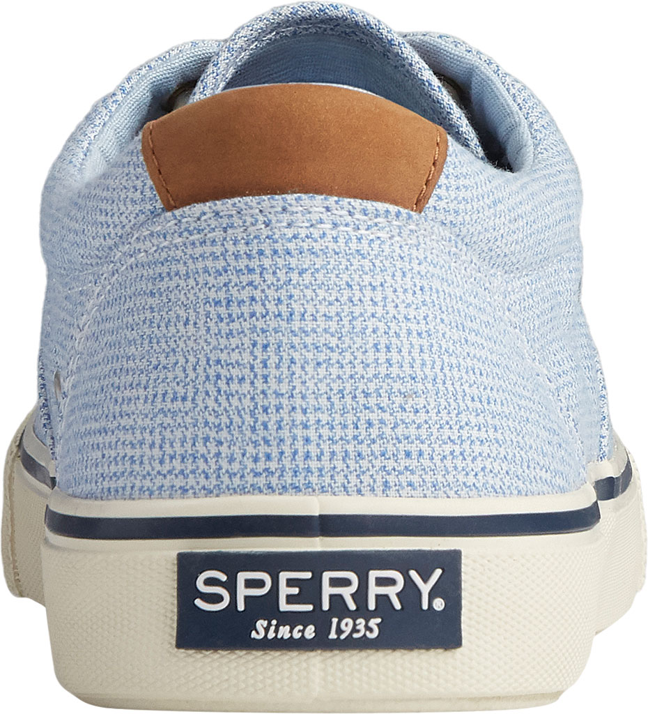 Men's Sperry Top-Sider Striper II CVO Gingham Sneaker, Blue Canvas, large, image 4
