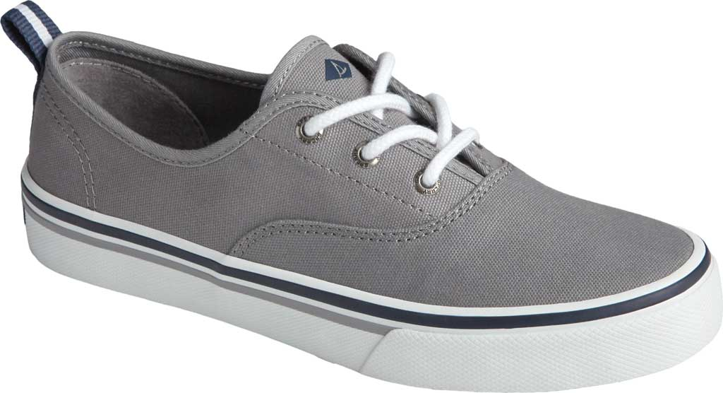 Women's Sperry Top-Sider Crest CVO Canvas Sneaker, Grey Textile, large, image 1