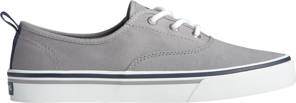 Women's Sperry Top-Sider Crest CVO Canvas Sneaker, Grey Textile, large, image 2