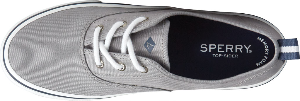 Women's Sperry Top-Sider Crest CVO Canvas Sneaker, Grey Textile, large, image 5