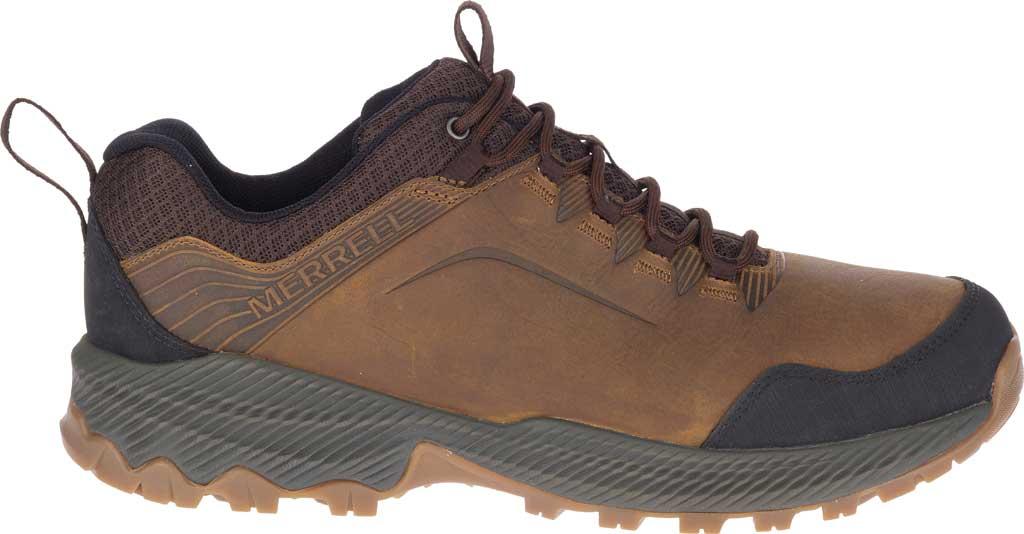 Men's Merrell Forestbound Hiking Shoe, Merrell Tan Full Grain Leather/Mesh, large, image 2