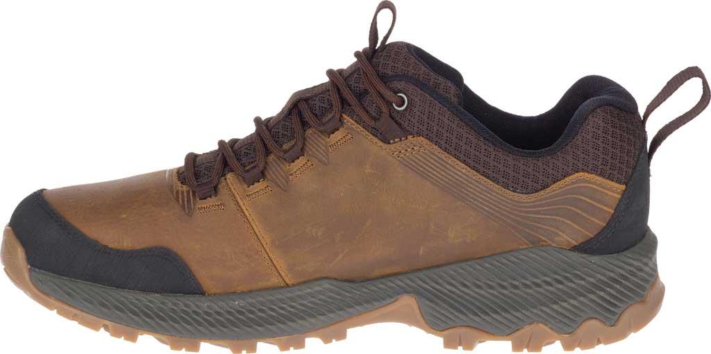 Men's Merrell Forestbound Hiking Shoe, Merrell Tan Full Grain Leather/Mesh, large, image 3