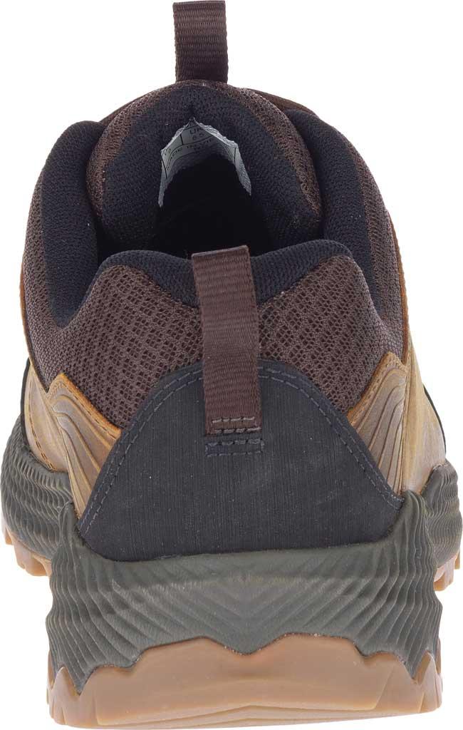 Men's Merrell Forestbound Hiking Shoe, Merrell Tan Full Grain Leather/Mesh, large, image 4
