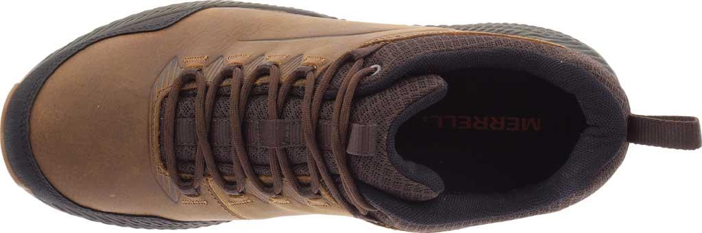 Men's Merrell Forestbound Hiking Shoe, Merrell Tan Full Grain Leather/Mesh, large, image 5