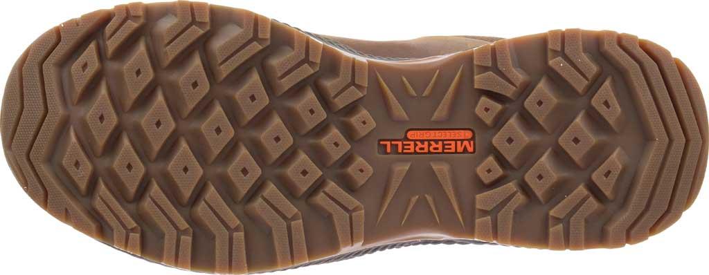 Men's Merrell Forestbound Hiking Shoe, Merrell Tan Full Grain Leather/Mesh, large, image 6