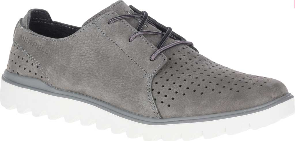 Men's Merrell Downtown Lace Oxford, Olive Full Grain Leather, large, image 1