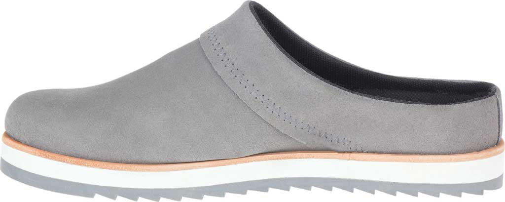 Women's Merrell Juno Suede Clog, Charcoal Suede, large, image 3