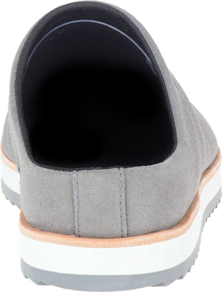 Women's Merrell Juno Suede Clog, Charcoal Suede, large, image 4