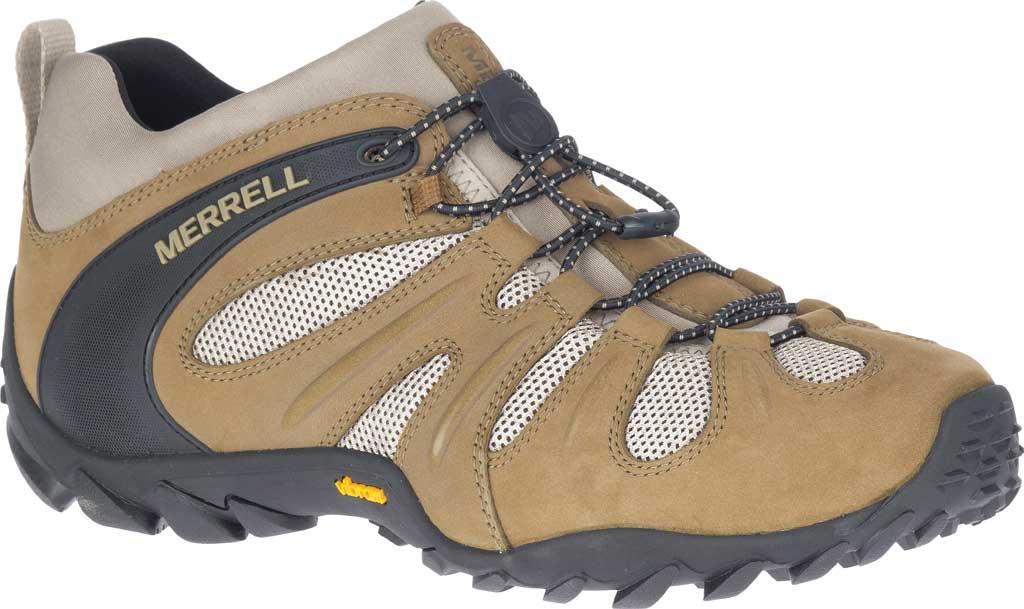 Men's Merrell Chameleon 8 Stretch Hiking Shoe, Kangaroo Nubuck/Mesh, large, image 1