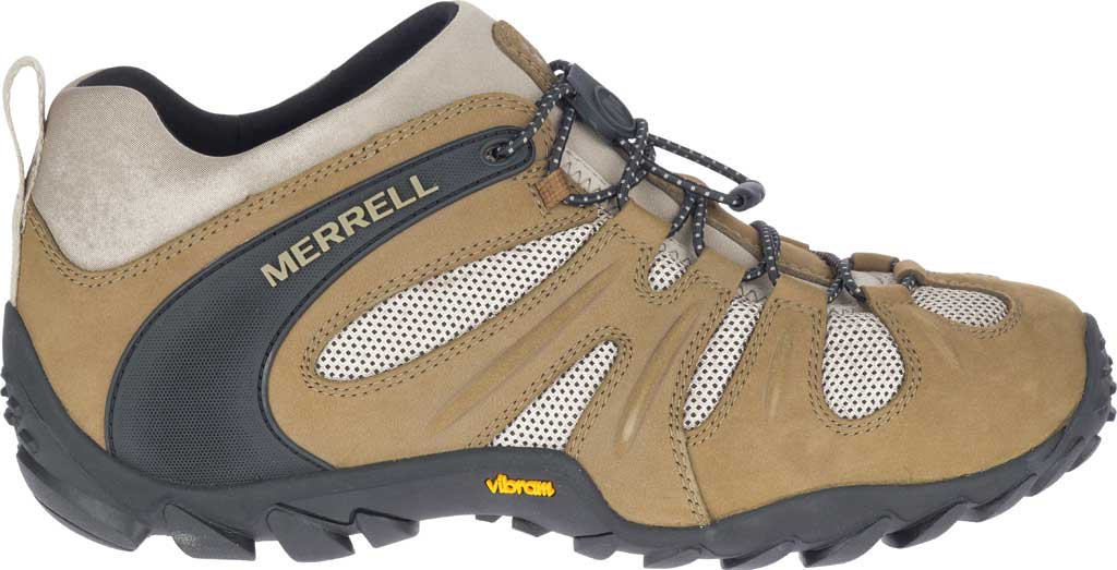 Men's Merrell Chameleon 8 Stretch Hiking Shoe, Kangaroo Nubuck/Mesh, large, image 2