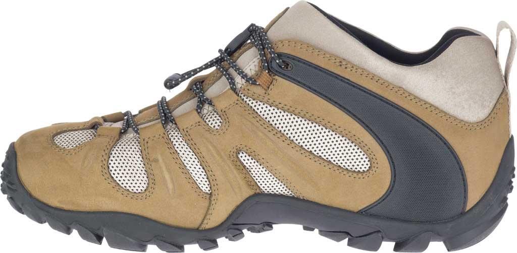 Men's Merrell Chameleon 8 Stretch Hiking Shoe, Kangaroo Nubuck/Mesh, large, image 3