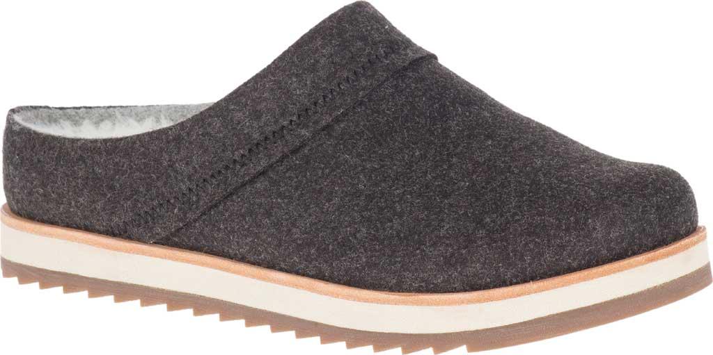 Women's Merrell Juno Wool Clog, Black Wool, large, image 1