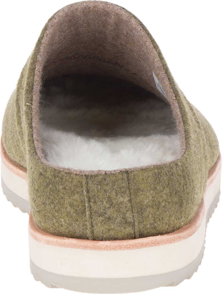 Women's Merrell Juno Wool Clog, Olive Wool, large, image 4