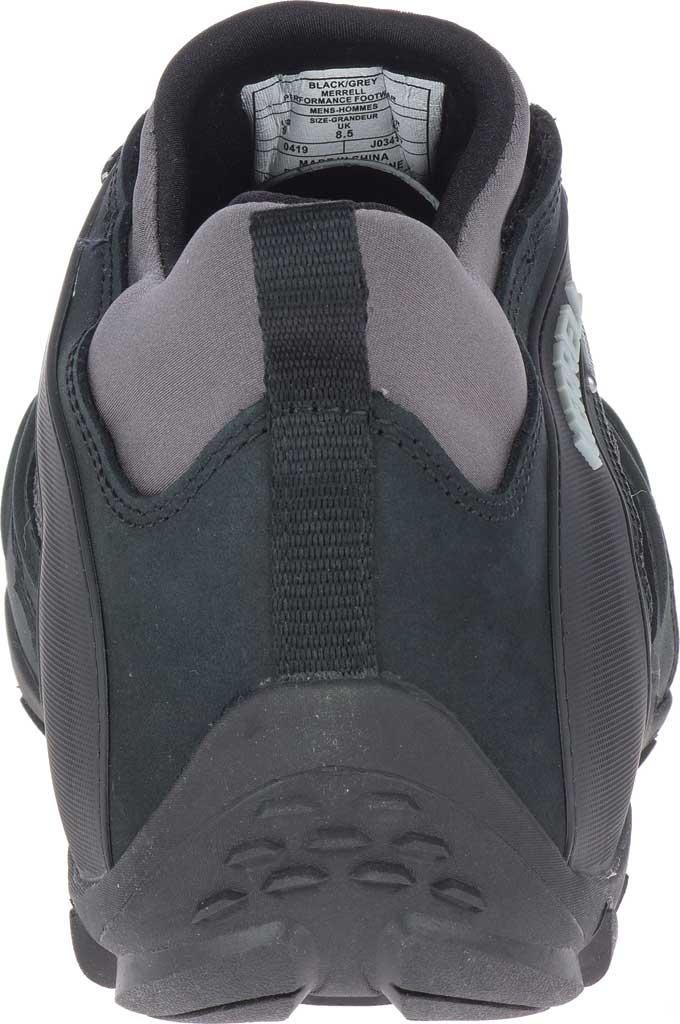 Men's Merrell Chameleon 8 Stretch Waterproof Hiking Shoe, Black/Grey Nubuck/Mesh, large, image 4