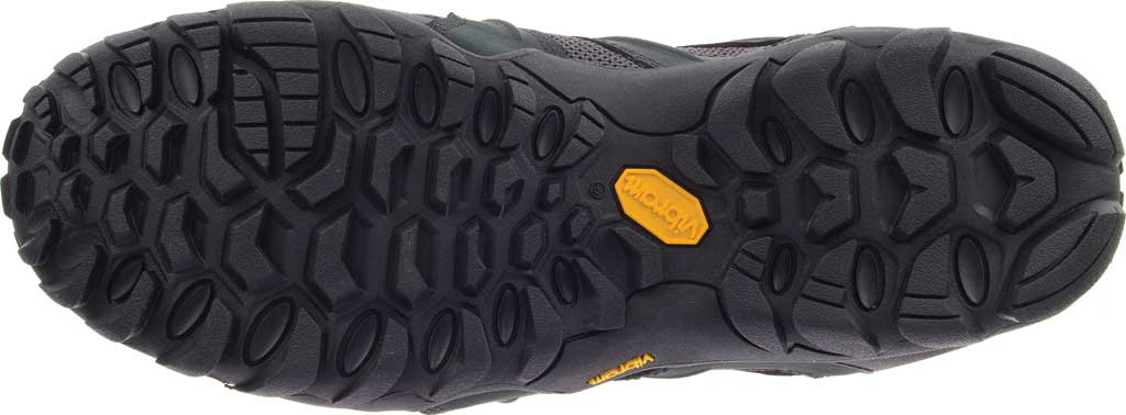 Men's Merrell Chameleon 8 Stretch Waterproof Hiking Shoe, Black/Grey Nubuck/Mesh, large, image 6