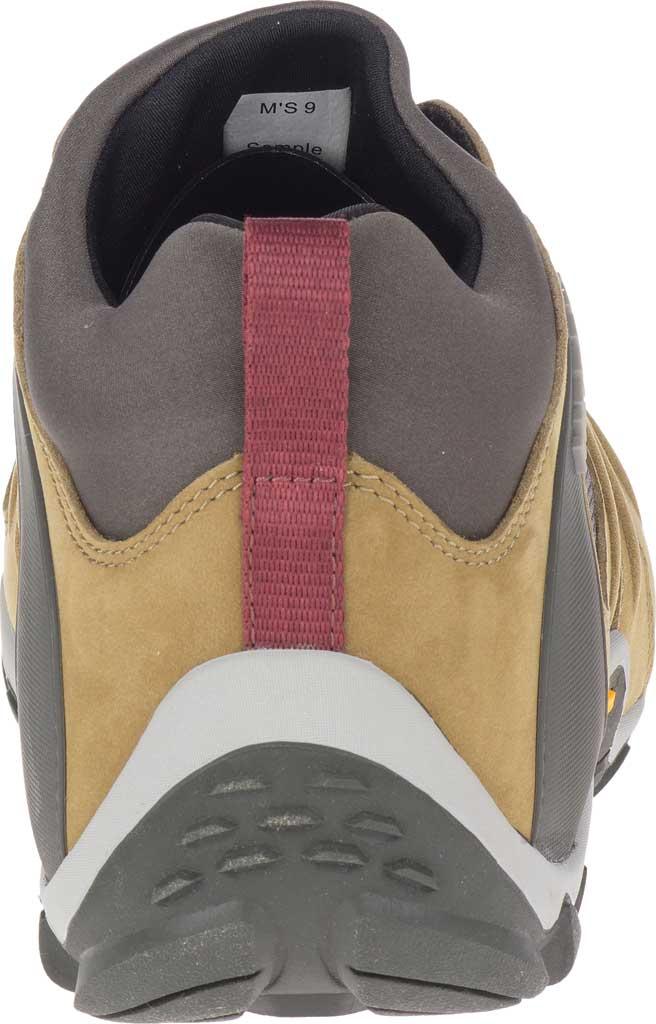 Men's Merrell Chameleon 8 Stretch Waterproof Hiking Shoe, Butternut Nubuck/Mesh, large, image 4