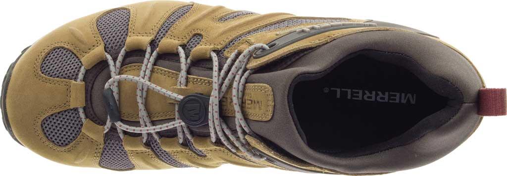 Men's Merrell Chameleon 8 Stretch Waterproof Hiking Shoe, Butternut Nubuck/Mesh, large, image 5
