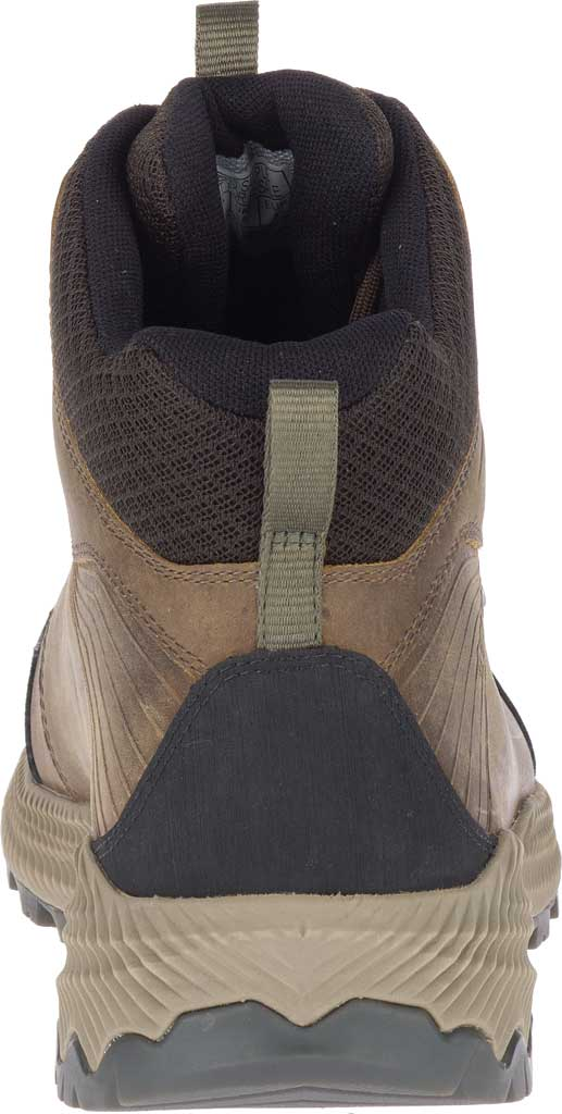 Men's Merrell Forestbound Mid Waterproof Hiking Boot, Cloudy Full Grain Leather/Mesh, large, image 4