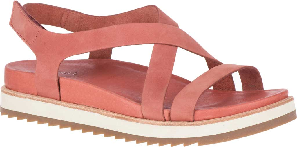 Women's Merrell Juno Backstrap Sandal, Redwood Nubuck, large, image 1