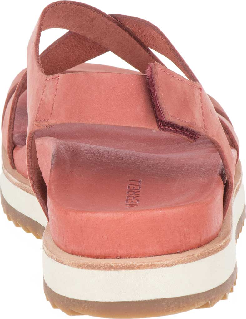 Women's Merrell Juno Backstrap Sandal, Redwood Nubuck, large, image 4