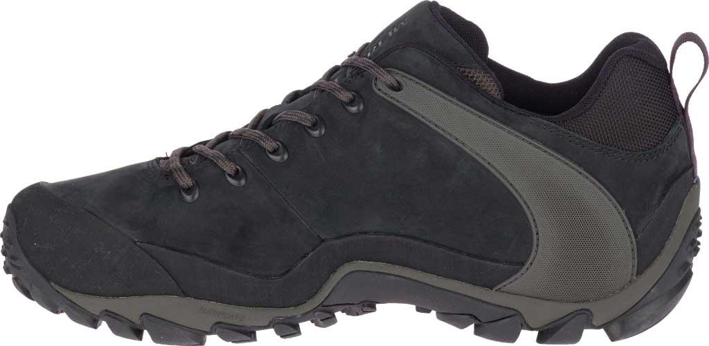 Men's Merrell Chameleon 8 Waterproof Hiking Shoe, Black Nubuck/Mesh, large, image 3