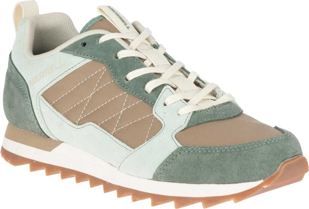 Women's Merrell Alpine Sneaker, Laurel/Foam Leather/Nylon, large, image 1