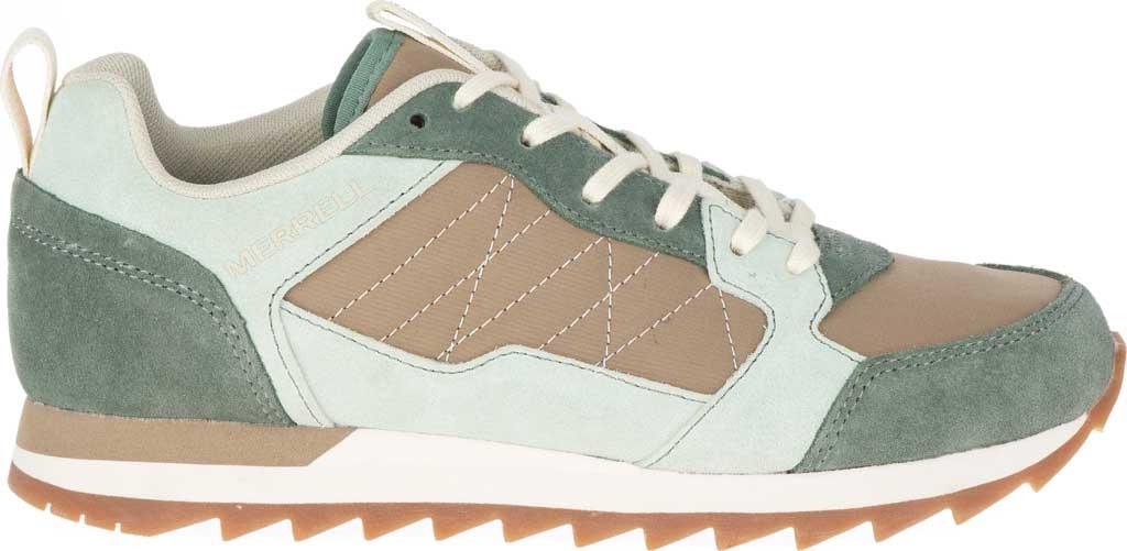 Women's Merrell Alpine Sneaker, Laurel/Foam Leather/Nylon, large, image 2