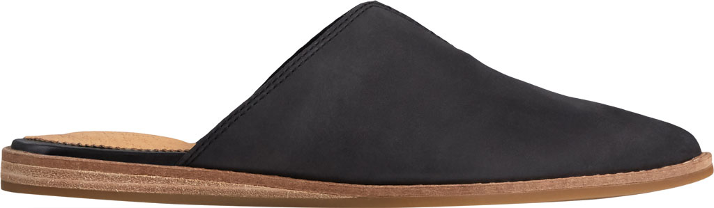 Women's Sperry Top-Sider Saybrook Leather Mule, Black Leather, large, image 2