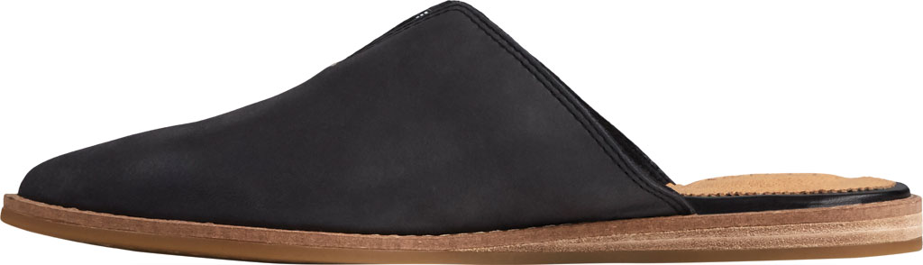 Women's Sperry Top-Sider Saybrook Leather Mule, Black Leather, large, image 3