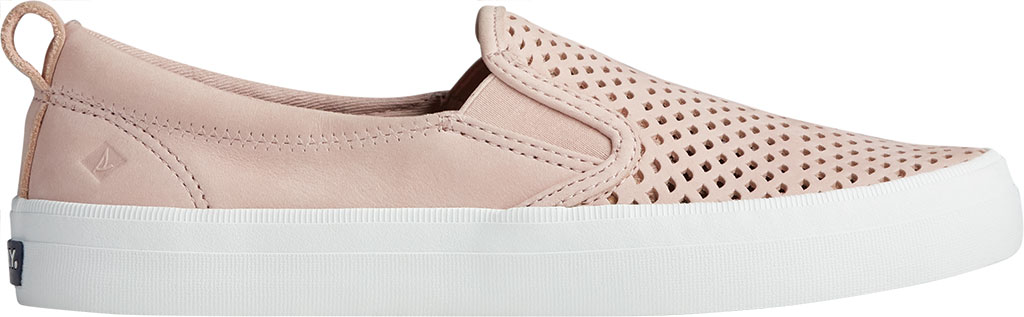 Women's Sperry Top-Sider Crest Twin Gore Scalloped Perforated Sneaker, Rose Dust Leather, large, image 2