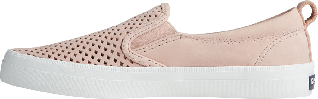 Women's Sperry Top-Sider Crest Twin Gore Scalloped Perforated Sneaker, Rose Dust Leather, large, image 3