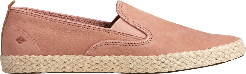 Women's Sperry Top-Sider Sailor Twin Gore Leather/Jute Sneaker, Blush Leather, large, image 2