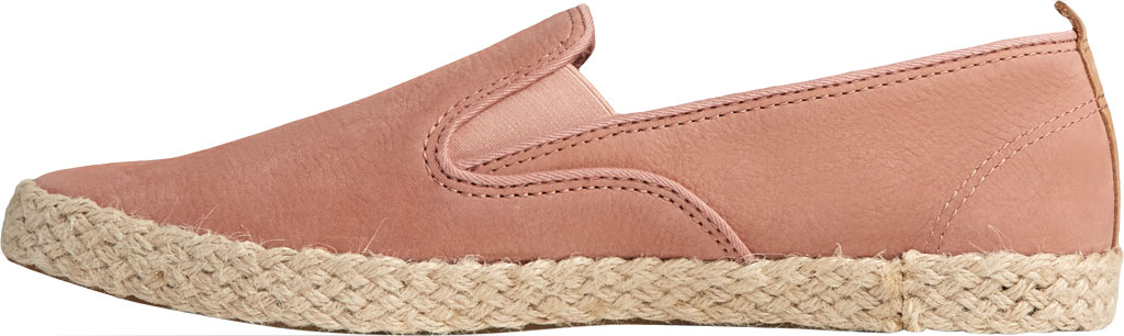Women's Sperry Top-Sider Sailor Twin Gore Leather/Jute Sneaker, Blush Leather, large, image 3